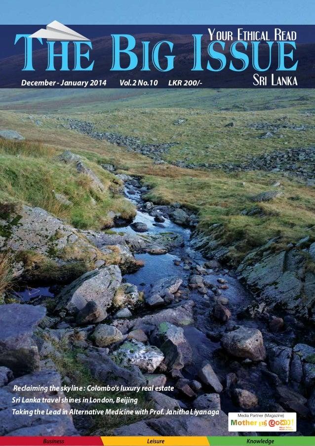 The Big Issue Sri Lanka Magazine