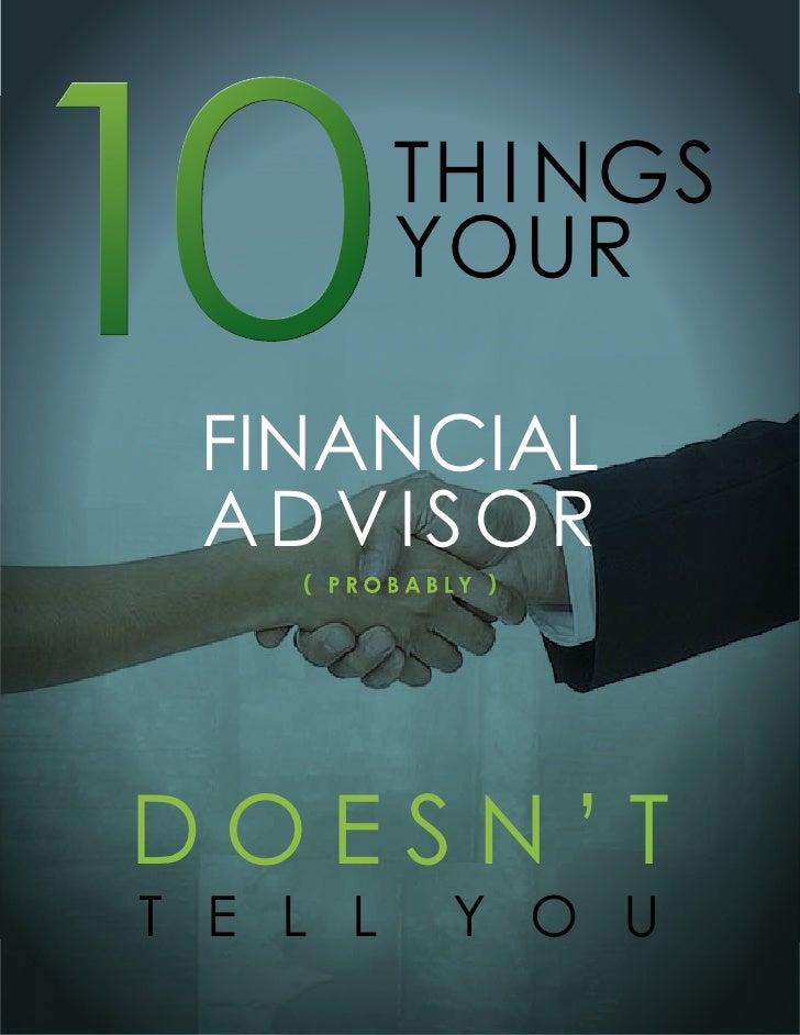 10 Things Booklet