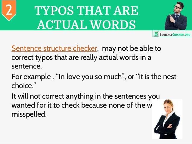 Sentence fragment corrector