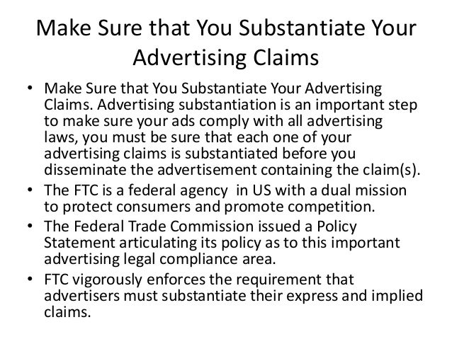 advertising claims or slogans that are based on puffery rather than substantiated claims Based on recent reports, 24/7 wall st has reviewed the most misleading product claims that were related to services rather than specific.