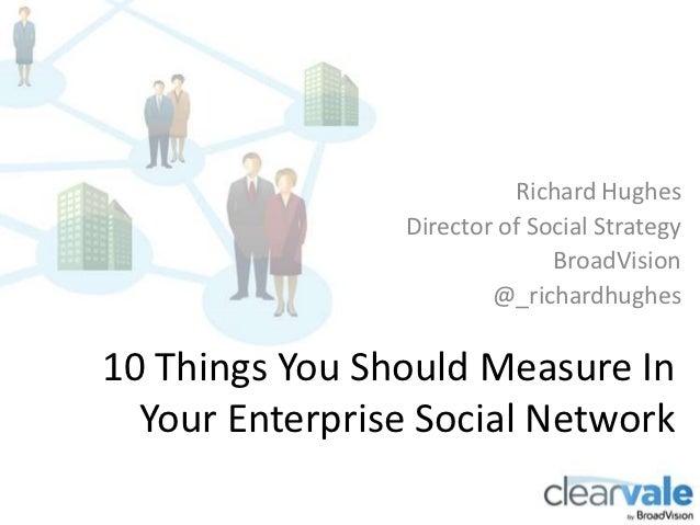 Richard Hughes                Director of Social Strategy                              BroadVision                        ...