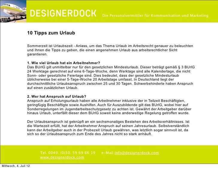 ∂                                          Die Personalvermittler für Kommunikation und Marketing                  10 Tipp...