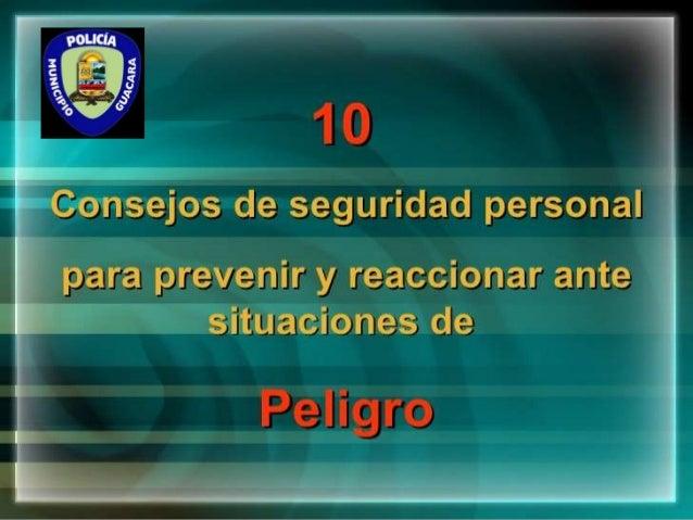 10 tips de seguridad