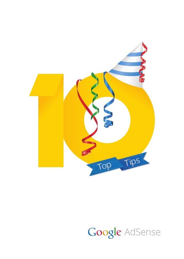 10 tips for 10 years Google Adsense