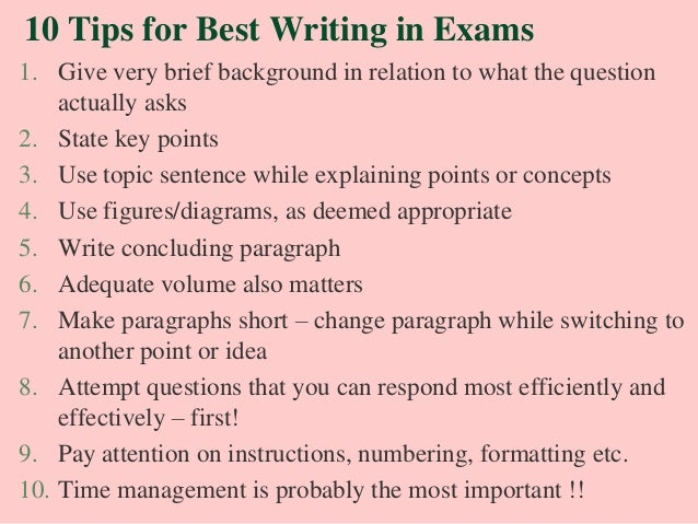 on examination essay on examination