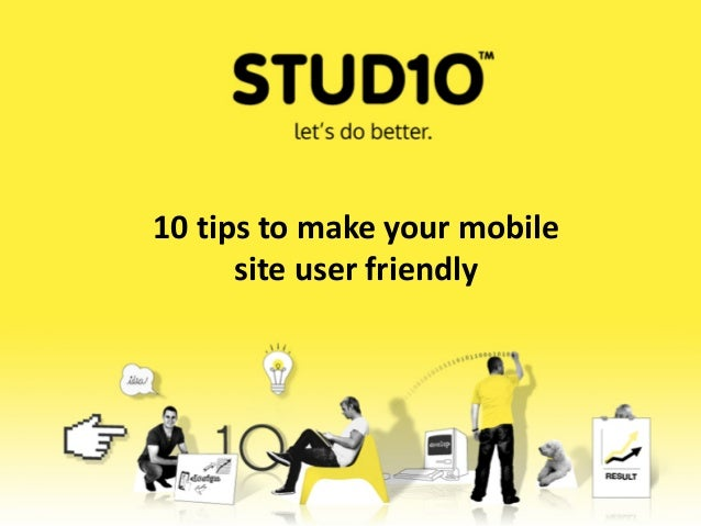 10 tips to make your mobilesite user friendly