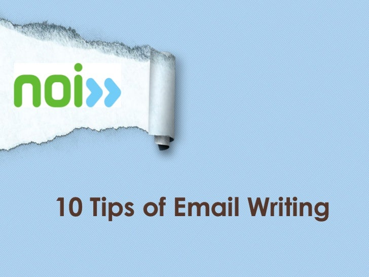 10 Tips for Email Writing