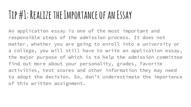 big words for college essay
