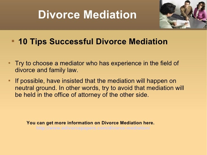 10 tips successful divorce mediation