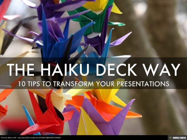 10 Tips to Transform Your Presentations