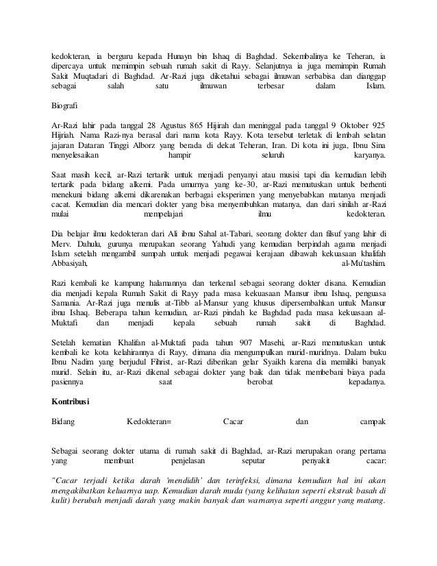 Biografi Ibnu Sina Biografi Tokoh Dunia Tokoh Islam | Ask ...