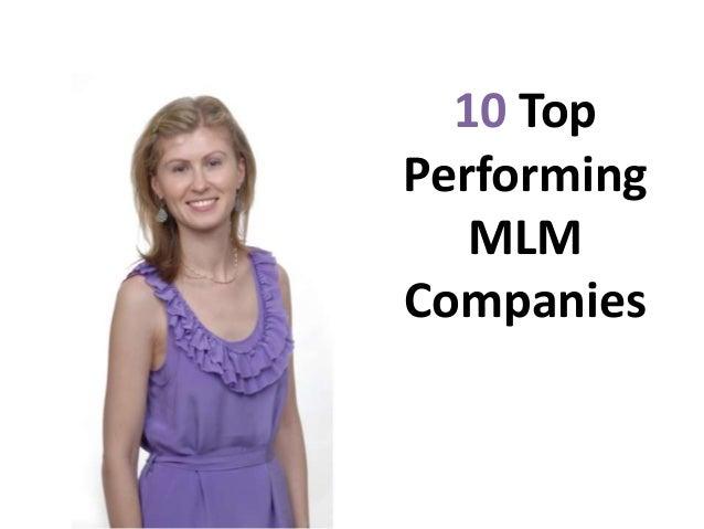 10 top performing mlm companies