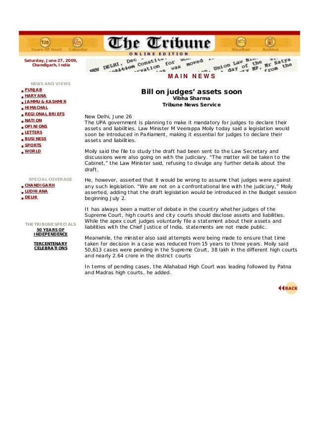 10 tribune bill_on_judges_assets_soon