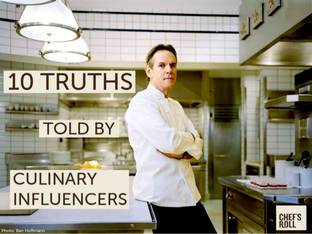 10 Truths Told By Culinary Influencers