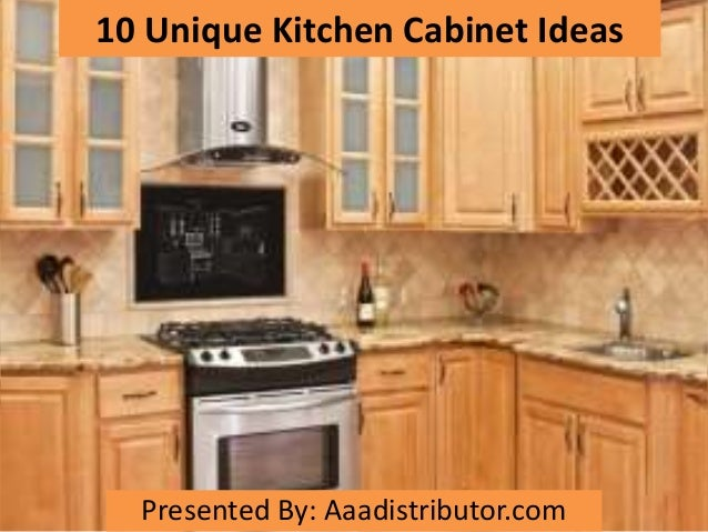 grey kitchen with dark brown cabinets