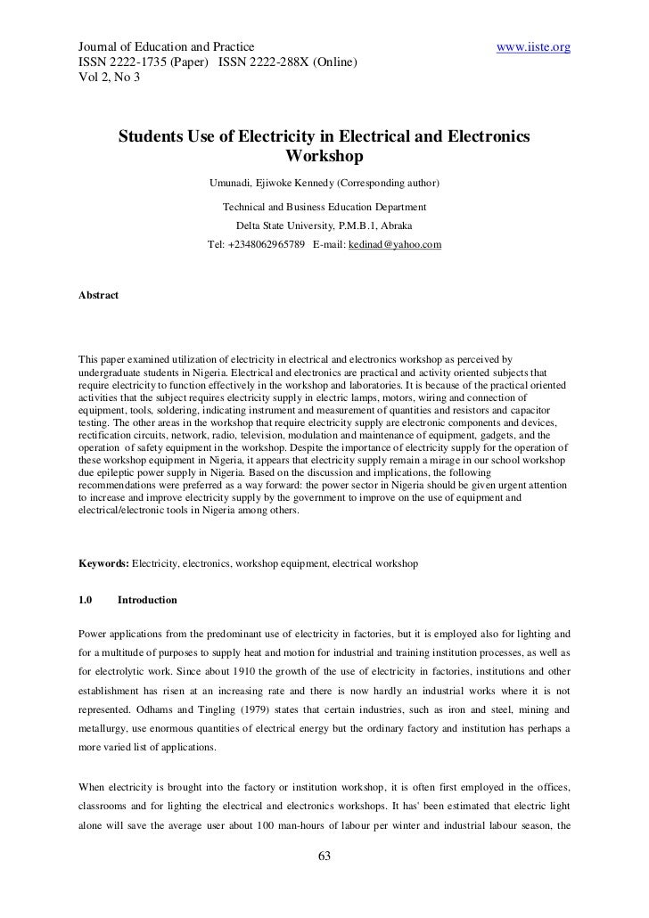 Journal of Education and Practice                                                                  www.iiste.orgISSN 2222-...