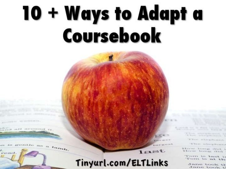 10+ Ways to Adapt a Textbook