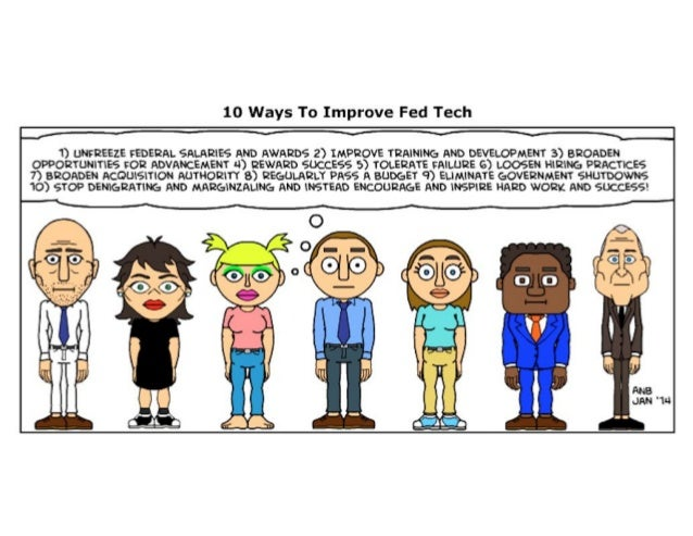 10 Ways To Improve Federal Technology