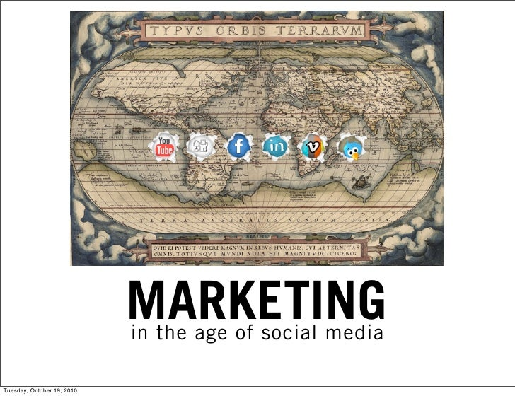 Four Steps Toward Marketing in the Age of Social Media