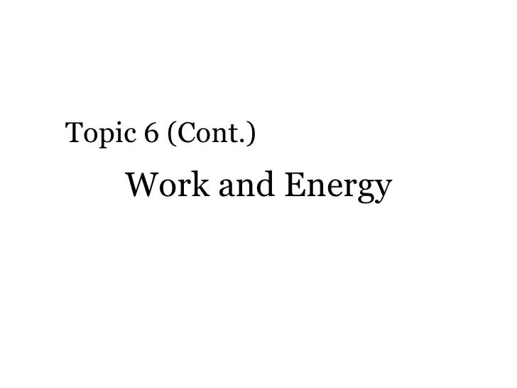 10 work and energy