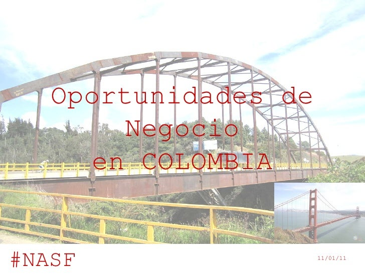 Oportunidades de Negocio en COLOMBIA
