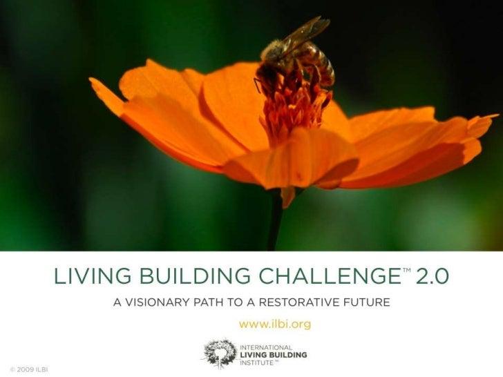 Living Building Challenge 2.0