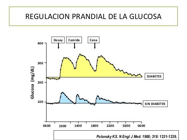 Vaciamiento gástrico e hiperglucemia postprandial
