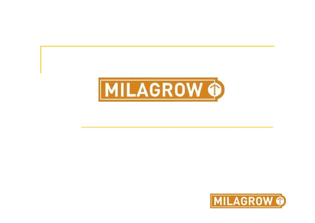 Milagrow's Journey……     Consulting with a Difference.                           Knowledge Division.                      ...
