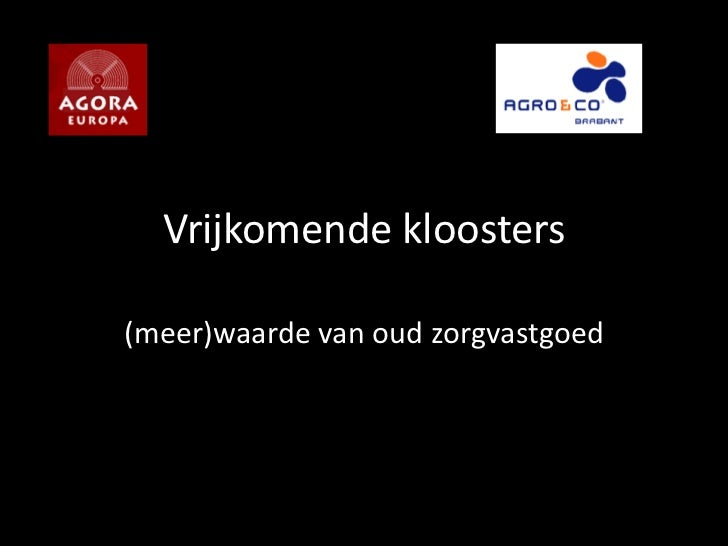 workshop herbestemming kloosters en zorg