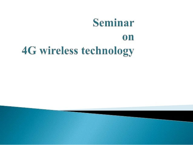    Abbreviation of fourth generation wireless technology   It will provide a comprehensive IP solution where voice , dat...