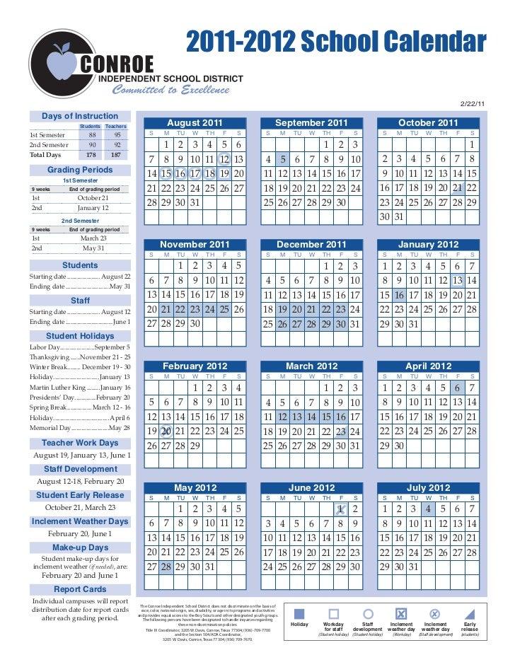 fit school calendar