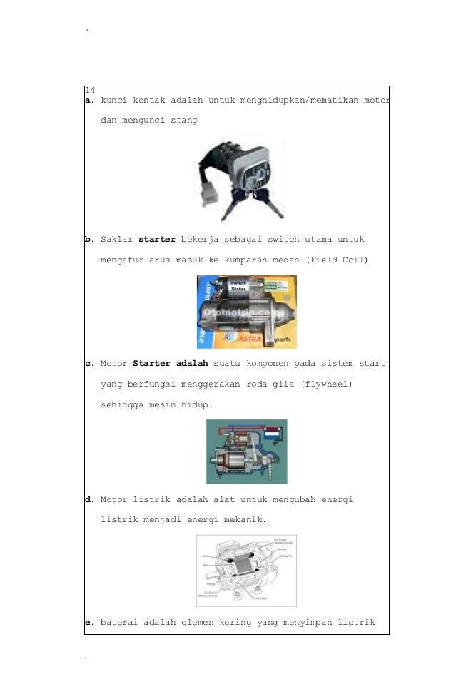 Soal Dan Jawaban No 11 Tugas Pendahuluan Motor Bensin Teknik Mesin