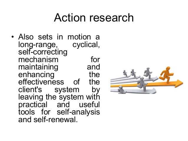 action research in od