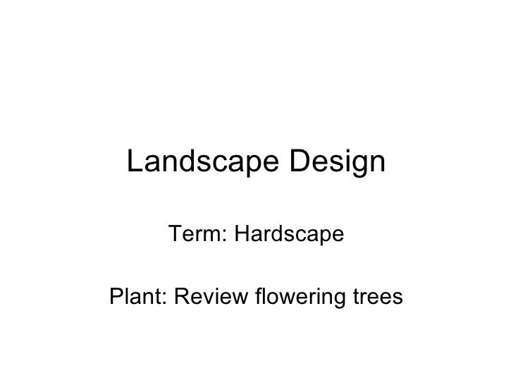 11 16 Intro To Hardscapes