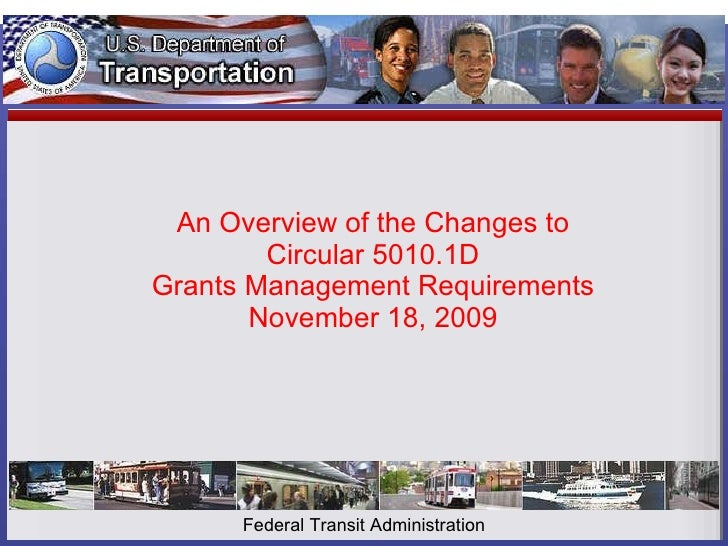 An Overview of the Changes to Circular 5010.1D Grants Management Requirements