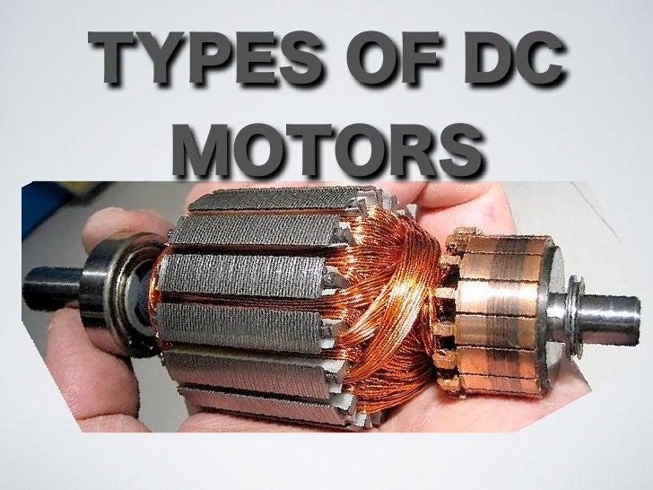 11 2 1 Types Dc Motors