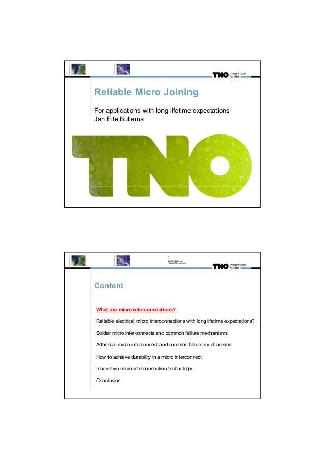 Jan Eite Bullema - TNO