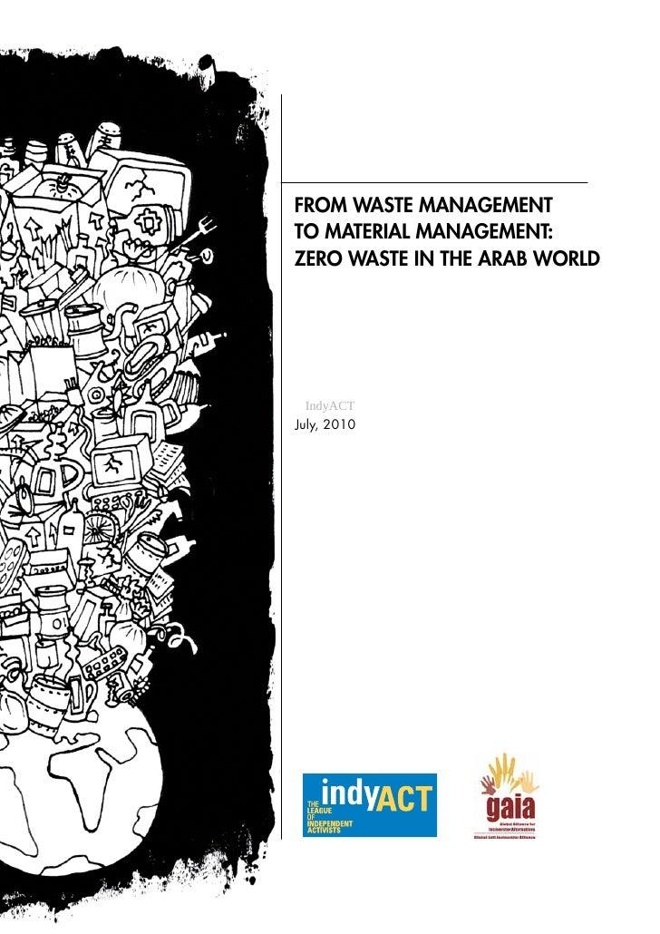 Zero Waste Report - English