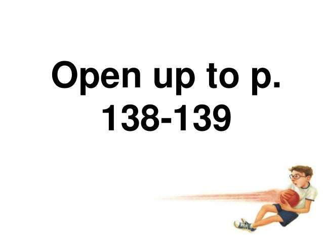 Open up to p.138-139
