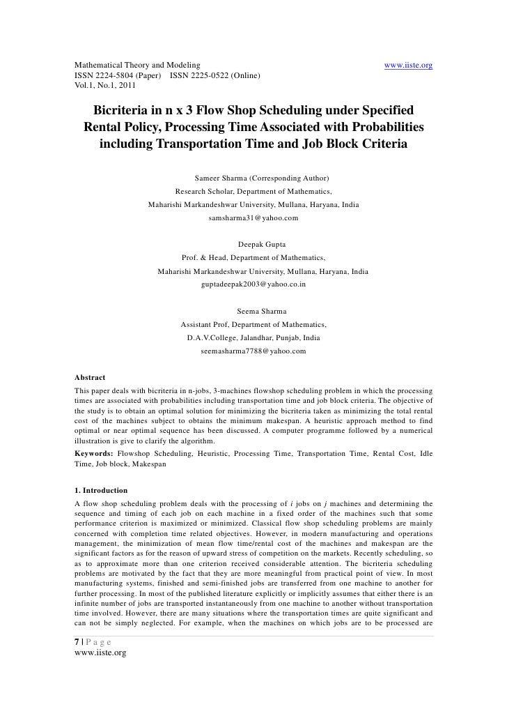 Mathematical Theory and Modeling                                                                www.iiste.orgISSN 2224-580...