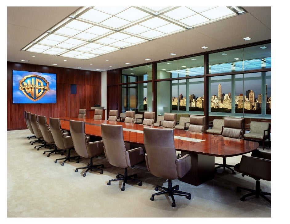 Goldman Sachs Board Room