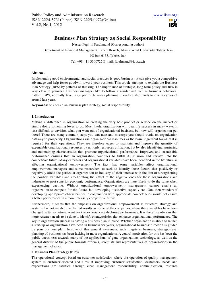 Public Policy and Administration Research                                              www.iiste.orgISSN 2224-5731(Paper) ...