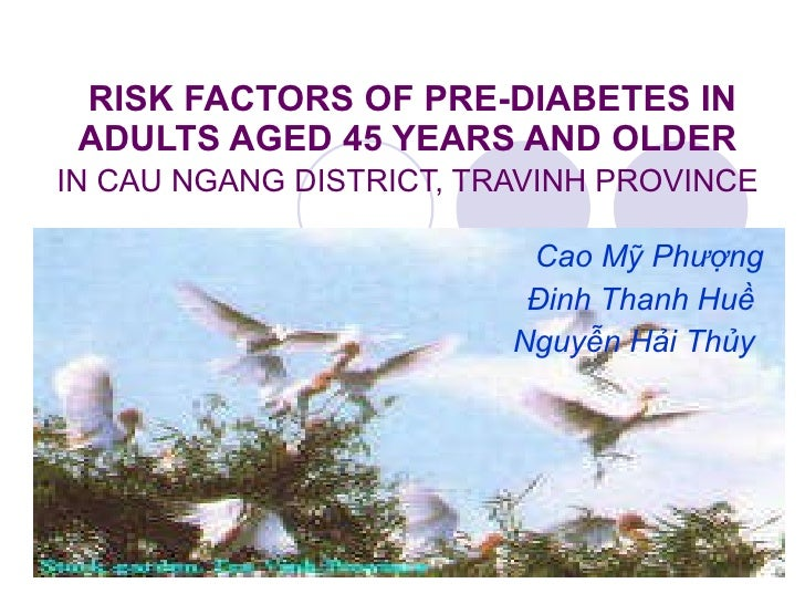 11. cao my phuong risk factors of pre diabetes in adults aged 45