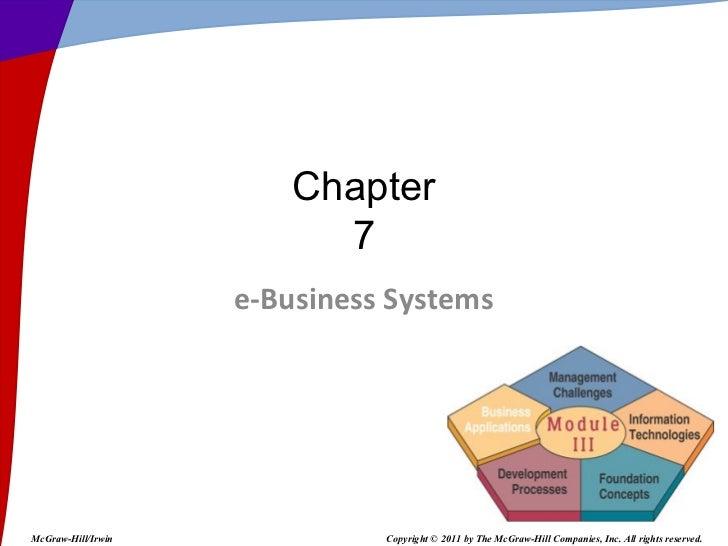 Capítulo VII. Sistemas de Información Gerencial, James O´Brien Por el Profesor presentación Powerpoint