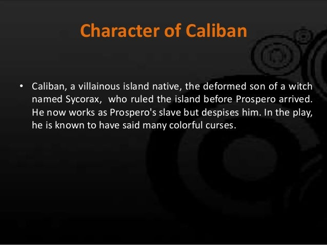 essay on caliban Disclaimer: this essay has been submitted by a student this is not an example of the work written by our professional essay writers any opinions, findings.