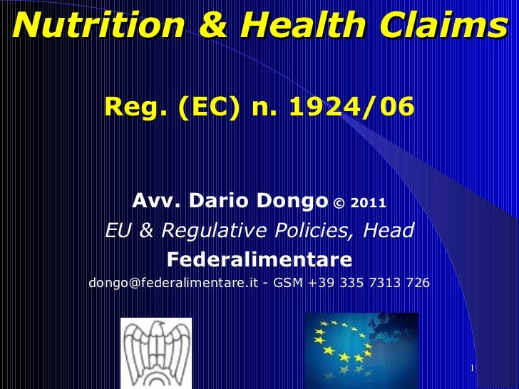 06 - Innovating Food, Innovating the Law - Dario Dongo