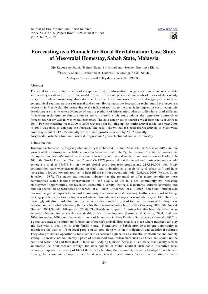 11.forecasting as a pinnacle for rural revitalization