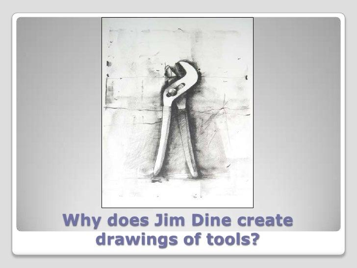 Jim Dine Tools Drawings