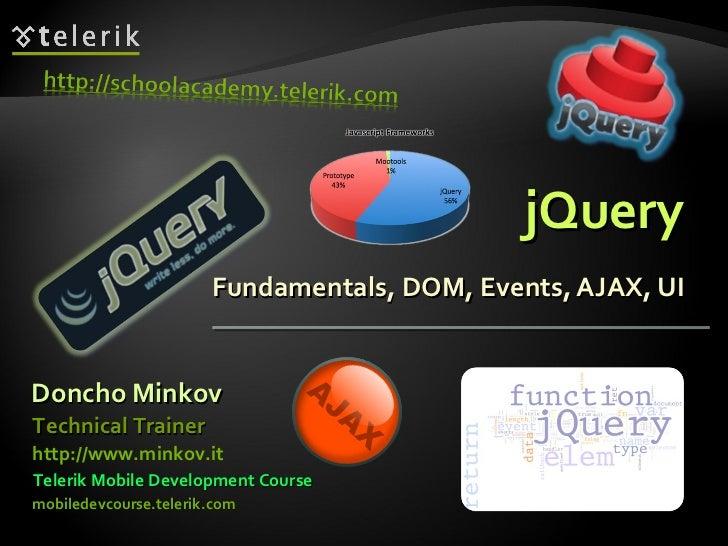jQuery Fundamentals