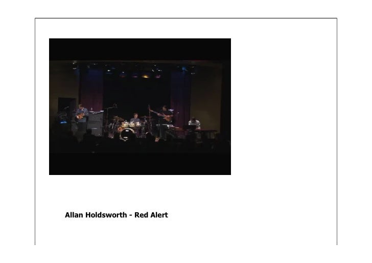 Allan Holdsworth - Red Alert